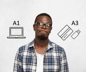 Qual o melhor certificado digital para CTe: modelo A1 ou A3?